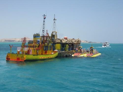 Submarine in Hurghada