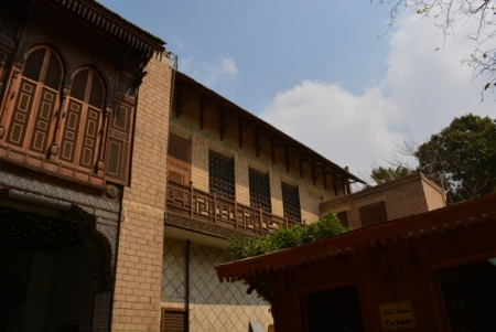Mashrabiya at Manial Palace