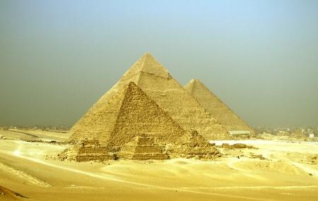 Pirámides de Guiza, Egipto