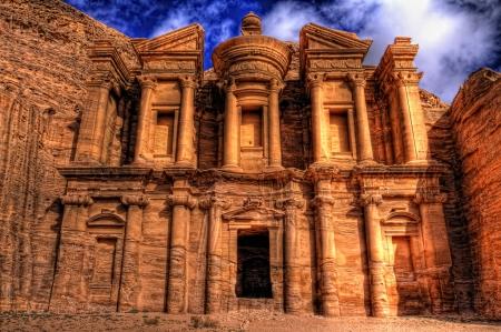 Petra Monastery in Jordan