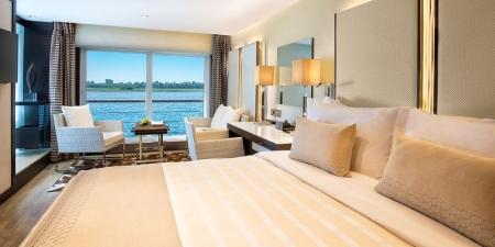 The Oberoi Philae Nile Cruise Cabin