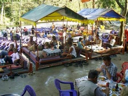 Lunch at Turkish Village, Marmaris