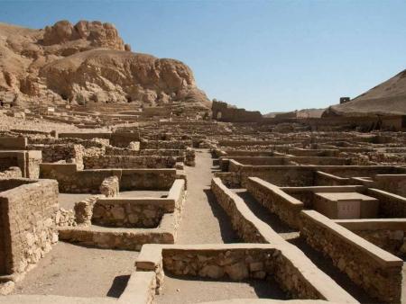 Deir El Medina at Luxor
