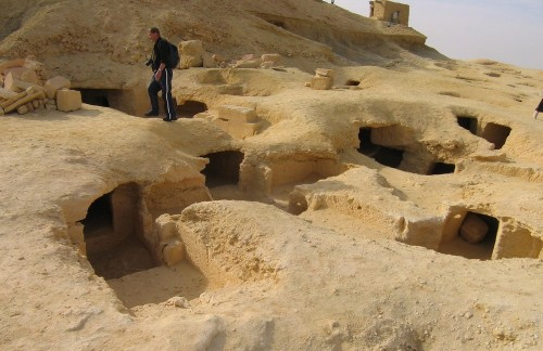 Mountain of the Dead, Western Desert