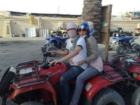 Quad Bike Adventure in Sinai Desert