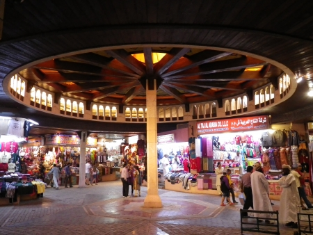 The Muttrah souk