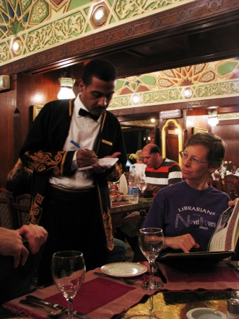 Waiter in Restaurant