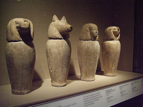 Canopic Jars, Egypt