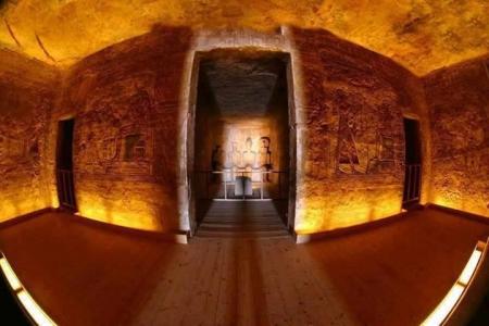 Santo dei Santi, Abu Simbel