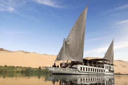 Luxury El Bey Dahabiya Nile cruise Egypt