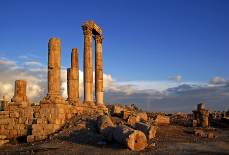 Temple of Hercules, Amman  Citadel