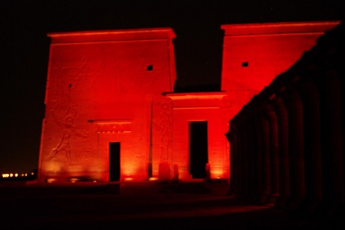 Sound and Light Show, Philae Temple
