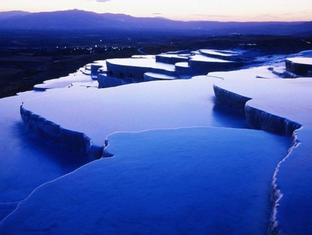 Pamukkale (Hierapolis) in Turkey