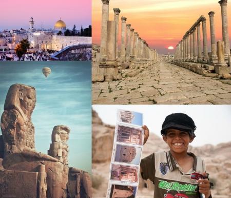Pacotes Jordânia e outros países