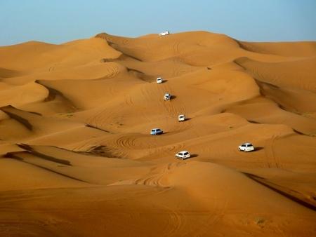 Morgendliche Wüstensafari ab Dubai Hafen