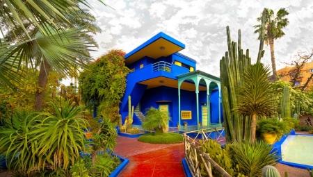El Jardín de Majorelle, Marruecos.