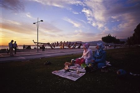 Puesta del sol en Izmir