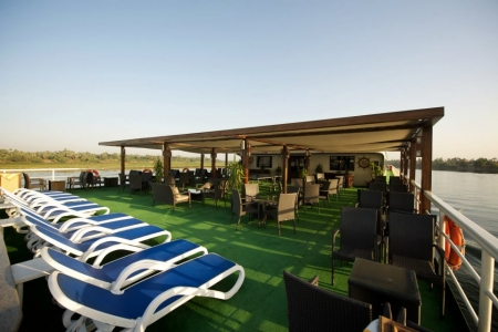 MS Presidential Nile Cruise Sundeck and Spa
