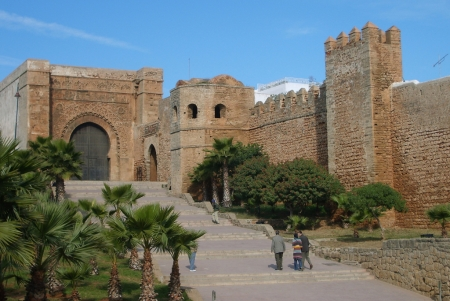 La Kasbah de los Oudayas.