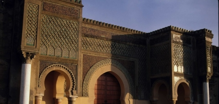 Bab Mansour is the Entrance to the Imperial City