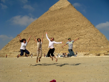 Have Fun at the Pyramids