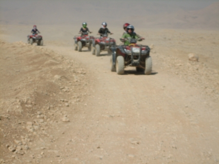 Sunrise Quad Bike Safari Tour in Luxor