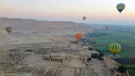 Escursione Mongolfiera a Luxor