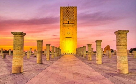 Hassan Tower, Rabat