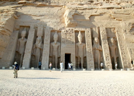 The Temple of Queen Nefertari, Abu Simbel