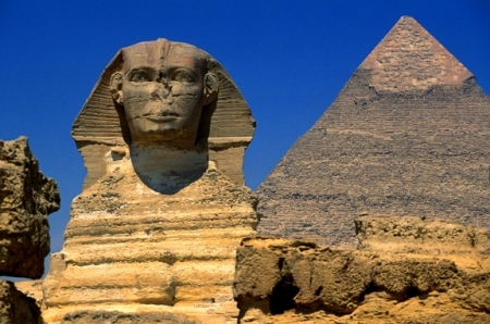Las pirámides y la esfinge, Egipto