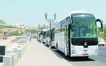 Comfortable Buses in Oman