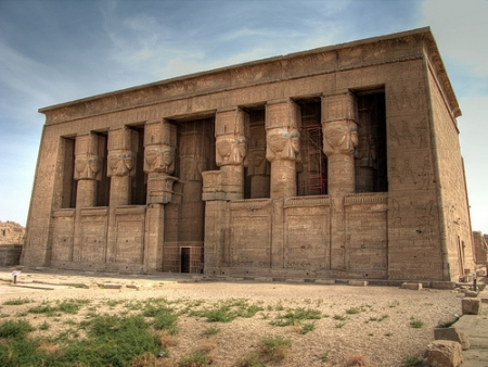 Hathor Temple in Dendera