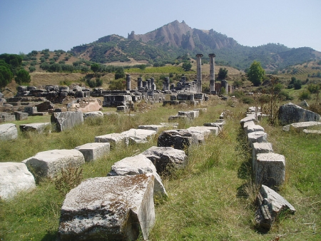 The Atremission Temple Ruins