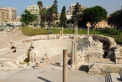 L'amphithéâtre Romain, Alexandrie