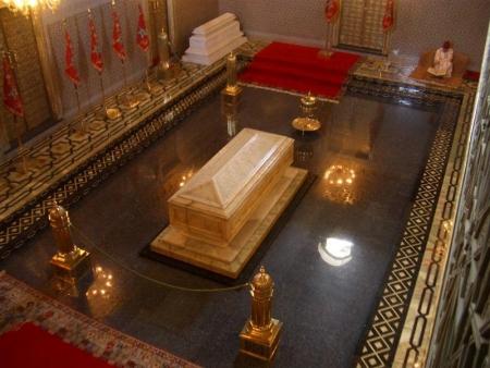 El Mausoleo de Mohammed V, Rabat.
