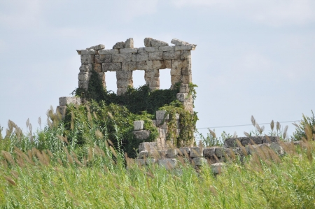 The Ancient Ruins of Perge
