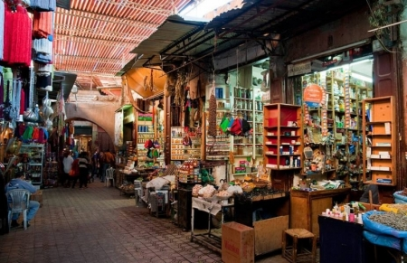 Souk - feira de Essaouira - Marrocos