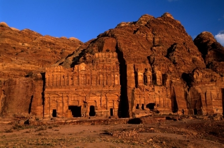 Facades Street in Petra
