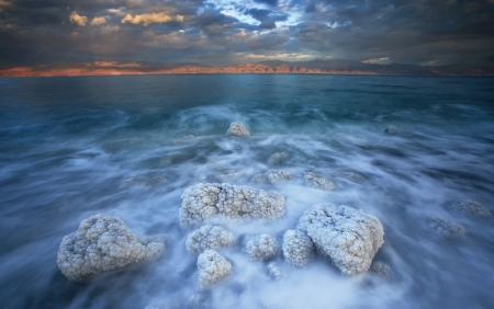 Dead Sea During Summer