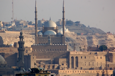 Stunning View of The Citadel and Mohamed Ali Mosque