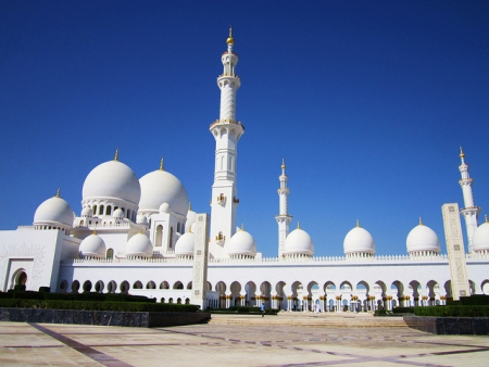 Grand Moschee in Abu Dhabi
