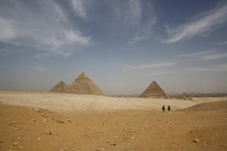 Panorama of the Pyramids, Egypt