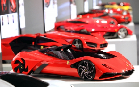 Sample of Ferrari Cars