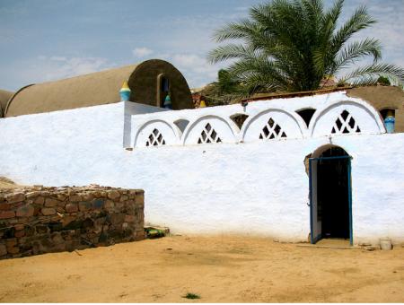 The Nubian Village on Soheil Island, Aswan