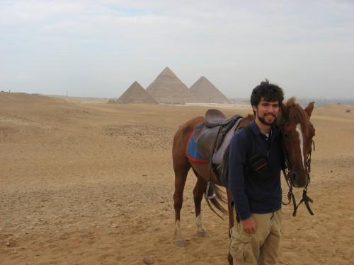 Horse Riding at Giza Pyramids