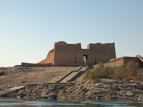 Outside View of Kalabsha Temple, Aswan