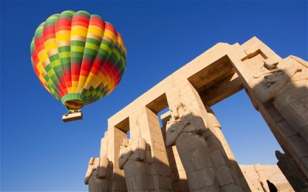 Hot Air Balloons Ride in Luxor