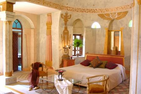 Deluxe Room at Al Moudira Hotel