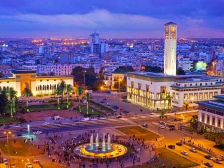 Piazza Mohamed V, Casablanca