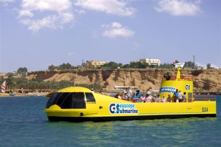 Sottomarino Sindbad, Hurghada